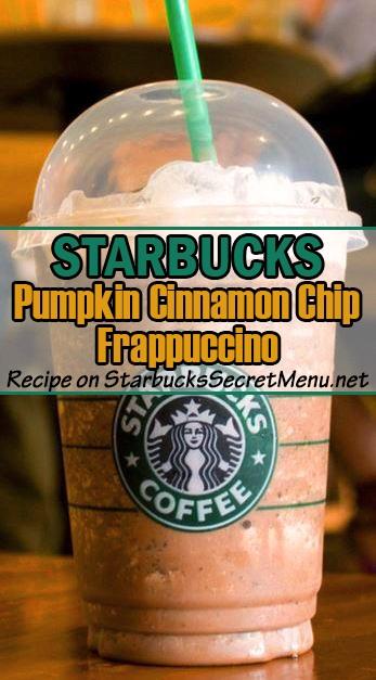 Pumpkin Cinnamon Chip Frappuccino