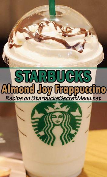 almond joy frappuccino