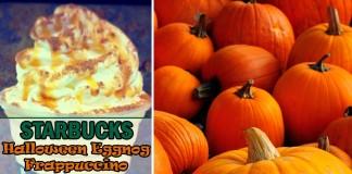 starbucks halloween eggnog frappuccino