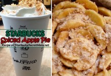 Starbucks Spiced Apple Pie