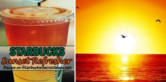 Starbucks Sunset Refresher