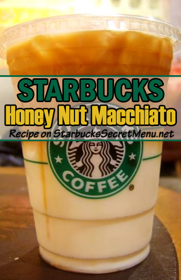 honey nut macchiato