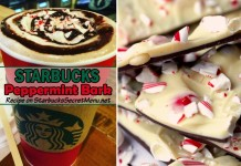 starbucks peppermint bark