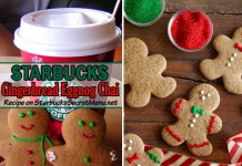 Starbucks Gingerbread Eggnog Chai
