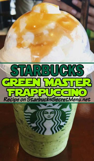 green master frappuccino