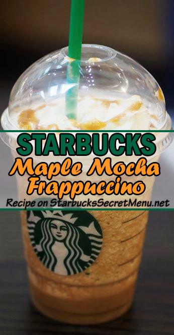 maple mocha frappuccino