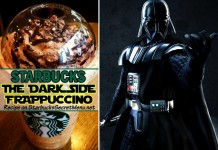 starbucks the dark side frappuccino