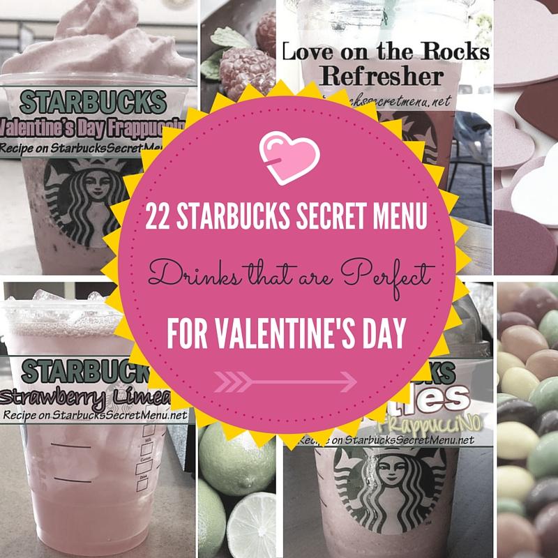 Starbucks Secret Menu Valentine's Day