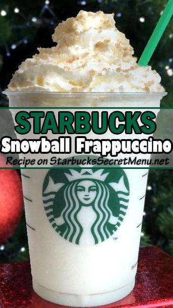 snowball frappuccino