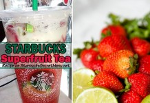 starbucks secret menu superfruit tea