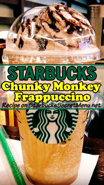 chunky monkey frappuccino