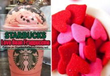 starbucks love bean frappuccino
