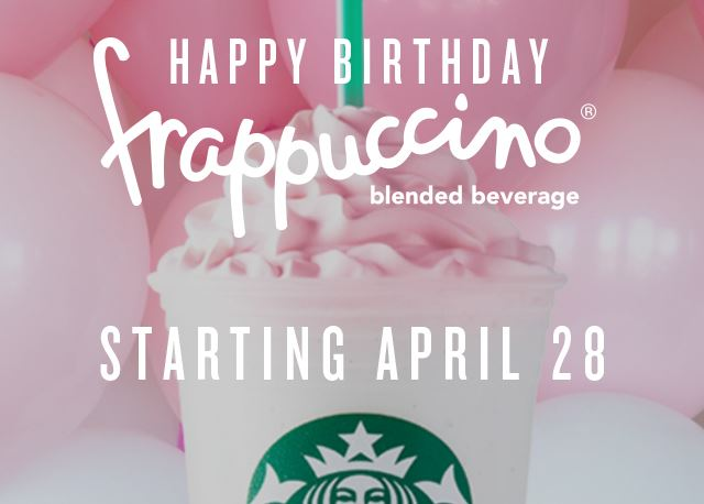 birthday cake frappuccino 2016