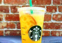 Orange drink starbucks