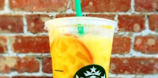 Orange drink starbucks