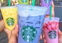 starbucks secret menu blue drink