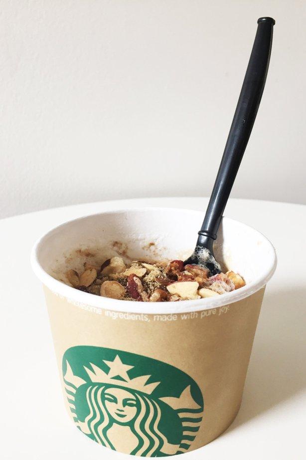 Starbucks Oatmeal Latte