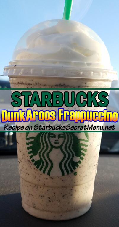 dunkaroos frappuccino