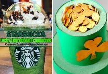 Starbucks Lucky Leprechaun Frappuccino
