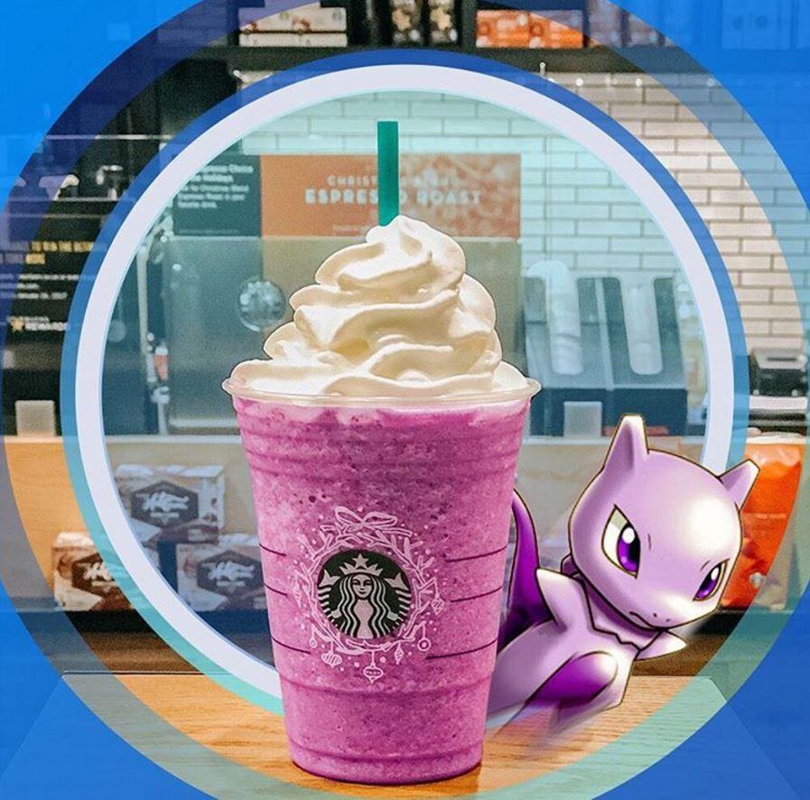Pokemon Go Frappuccino Starbucks