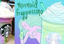 Starbucks Mermaid Frappuccino