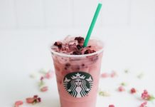 Starbucks Violet Drink