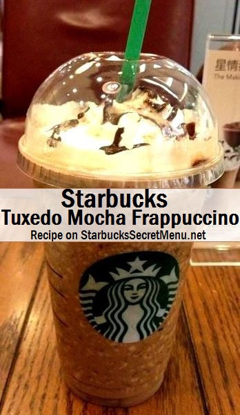 Starbucks Zebra Or Tuxedo Mocha Frappuccino Starbucks