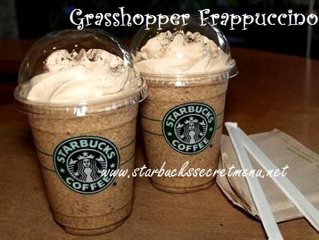 grasshopper frappuccino