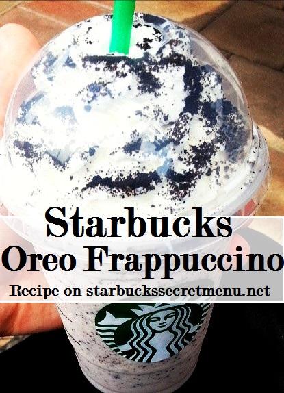 oreo frappuccino