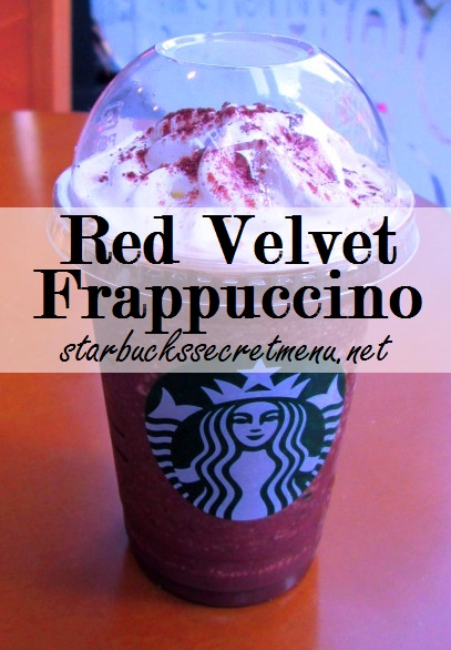 Red Velvet Cake Frappuccino Starbucks Recipe