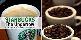 starbucks secret menu the undertow