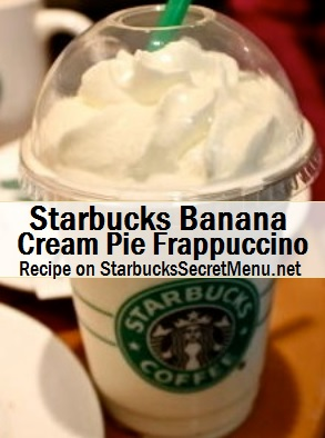 banana cream pie frappuccino