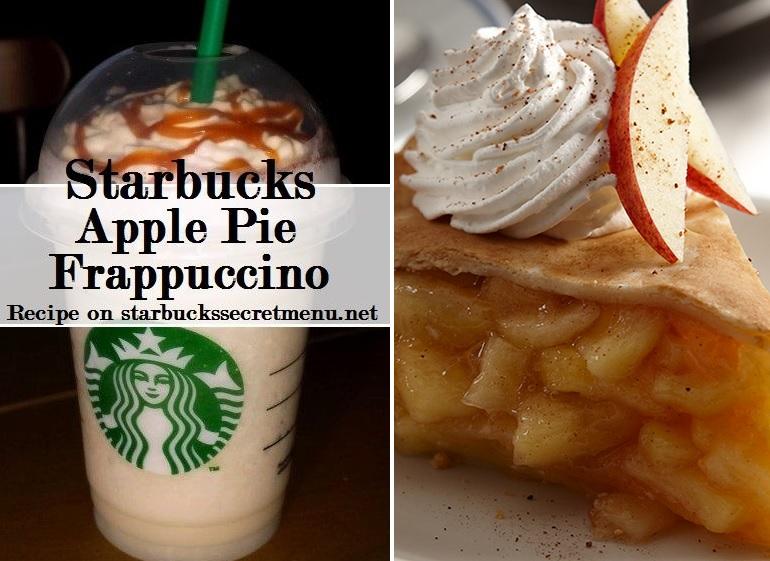 Starbucks Apple Pie Frappuccino Starbucks Secret Menu