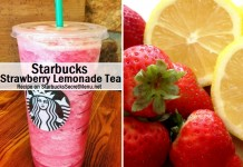 starbucks strawberry lemonade