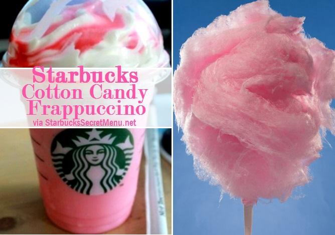 Starbucks Cotton Candy Frappuccino Starbucks Secret Menu