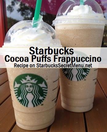 cocoa puffs frappuccino