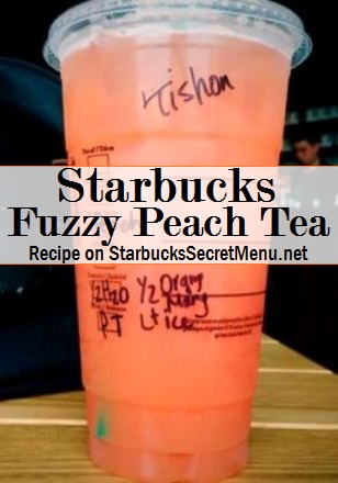 fuzzy peach tea