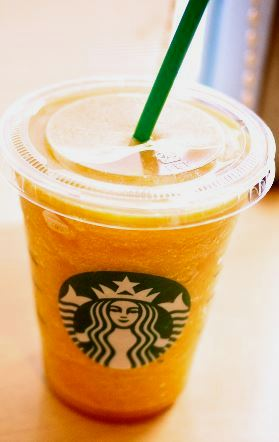 orange drink starbucks starbucks secret menu orange creamsicle frappuccino 12174
