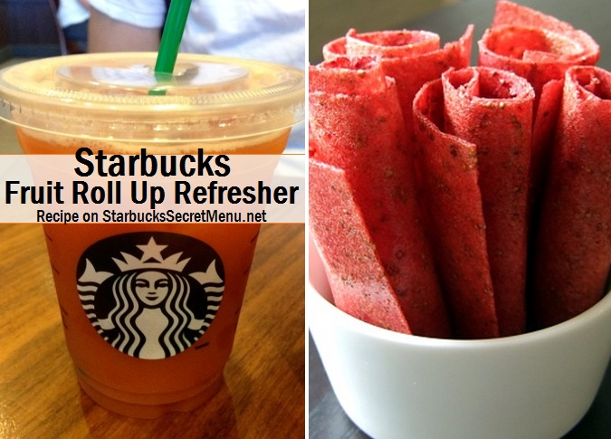 Starbucks Fruit Roll Up Refresher | Starbucks Secret Menu