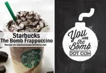 starbucks the bomb frappuccino