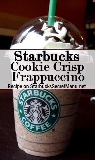 cookie crisp frappuccino