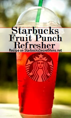 fruit punch refresher