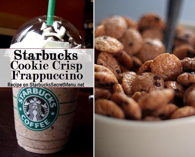Starbucks Cookie Crisp Frappuccino | Starbucks Secret Menu