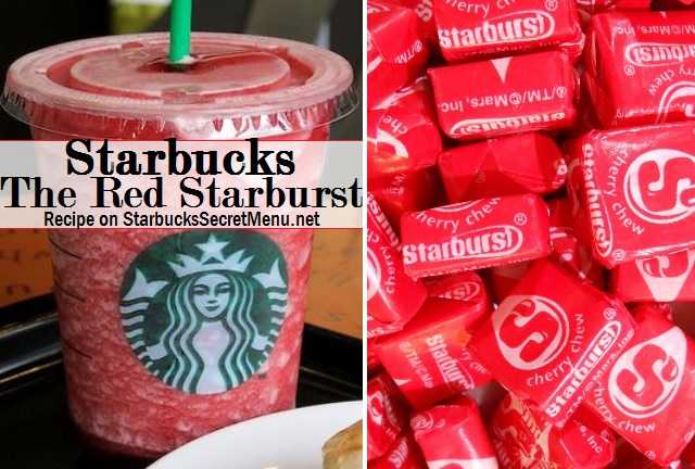 Starbucks The Red Starburst | Starbucks Secret Menu