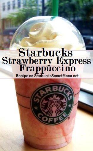 trawberry express frappuccino