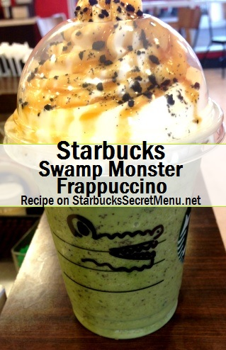swamp monster frappuccino