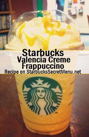 valencia creme frappuccino