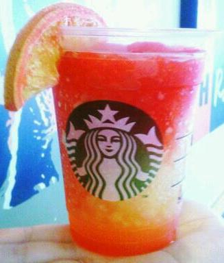 orange drink starbucks starbucks secret menu orange slush starbucks 12174