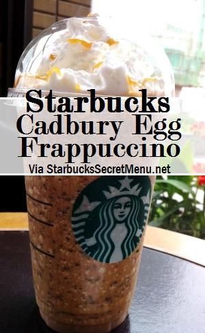 cadbury egg frappuccino