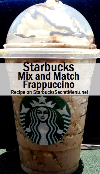 mix and match frappuccino